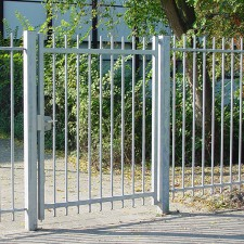 Swing gate with steel mesh - Kopal
